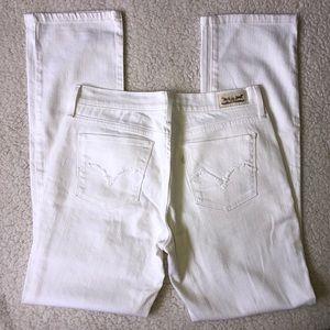 NWOT Levi's 505 White Straight Leg Jeans